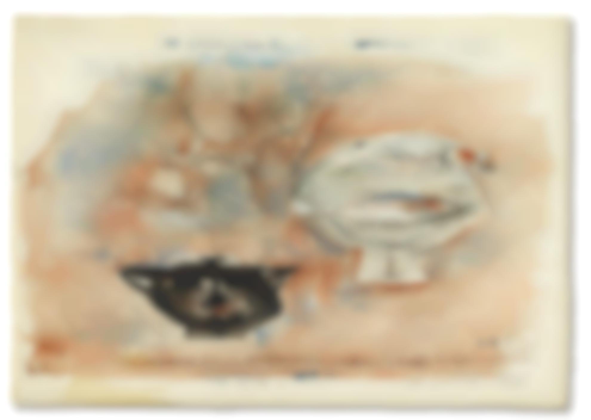 Zao Wou-Ki-Two Pots-1953