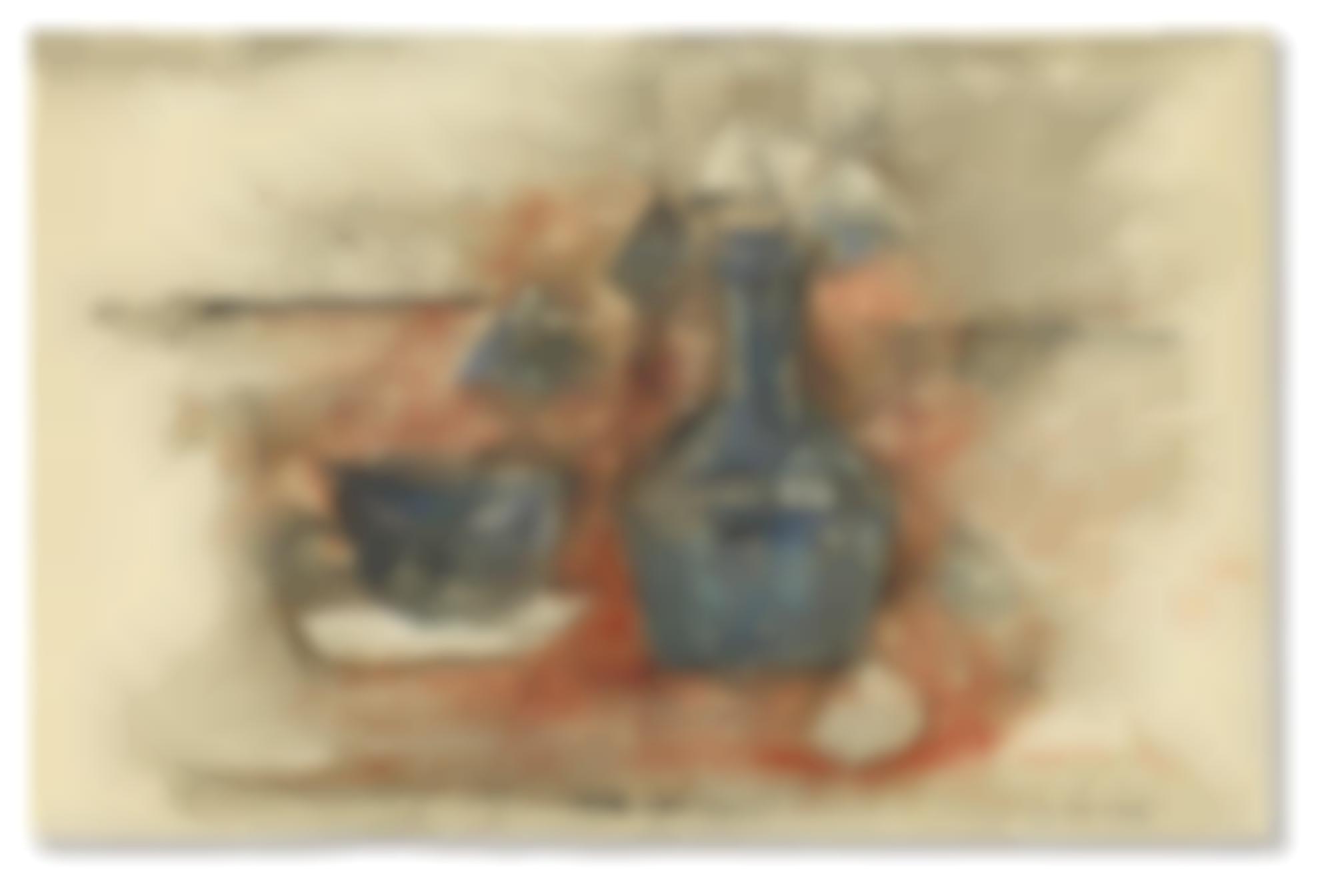 Zao Wou-Ki-Vase And Cup-1953