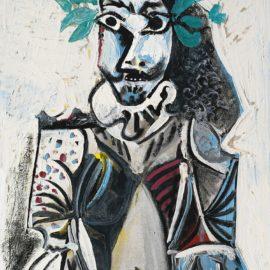 Pablo Picasso-Buste Dhomme Laure-1969