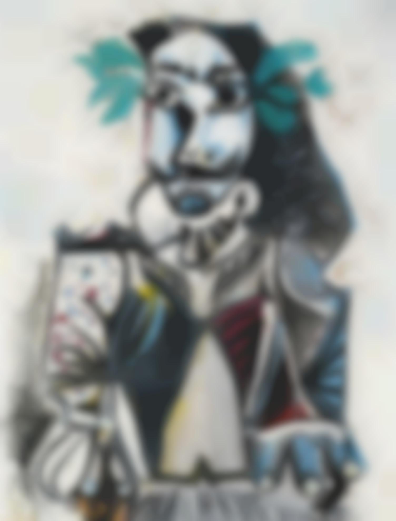 Pablo Picasso-Buste D'homme Laure-1969
