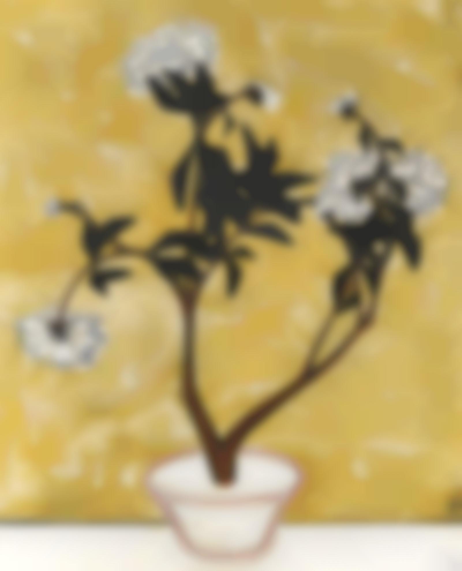 Sanyu-Pot De Pivoines-1950