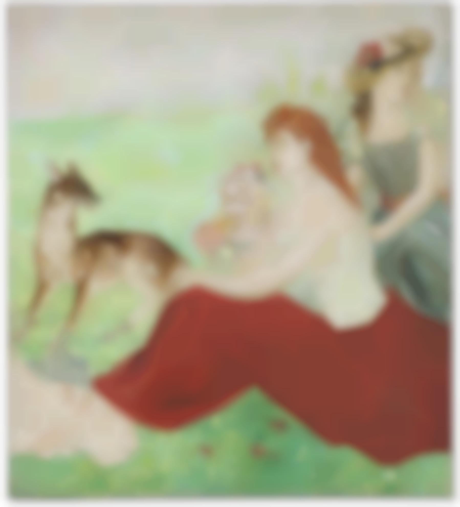 Tsuguharu Foujita-Printemps-1935