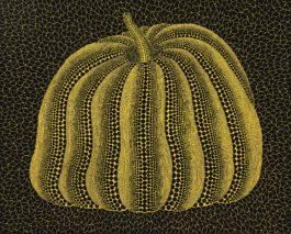 Yayoi Kusama-Pumpkin (Ploe)-2013