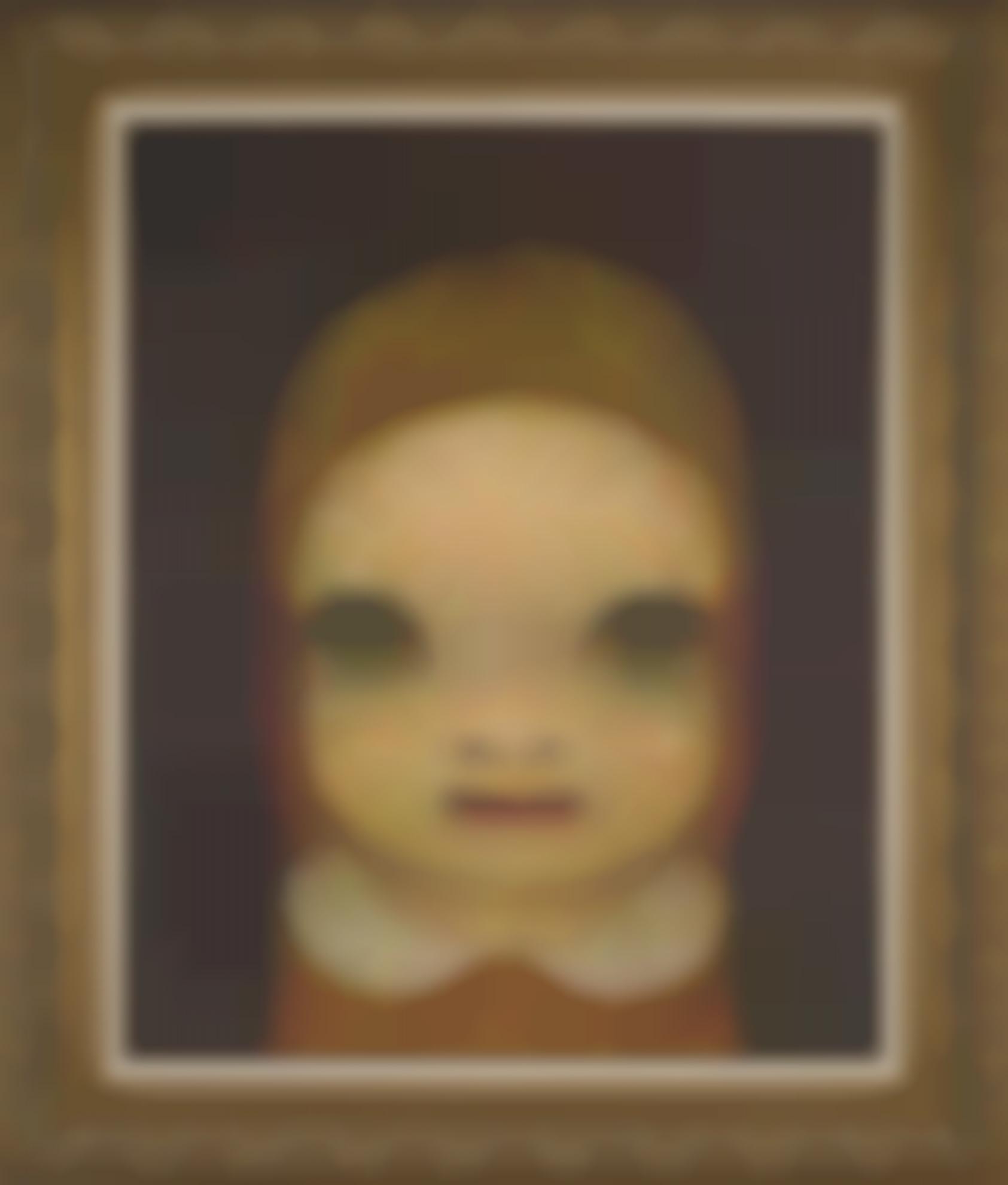 Yoshitomo Nara-Portrait Of Ae-2009