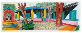 David Hockney-Hotel Acatlan: Second Day (From Moving Focus)-1985