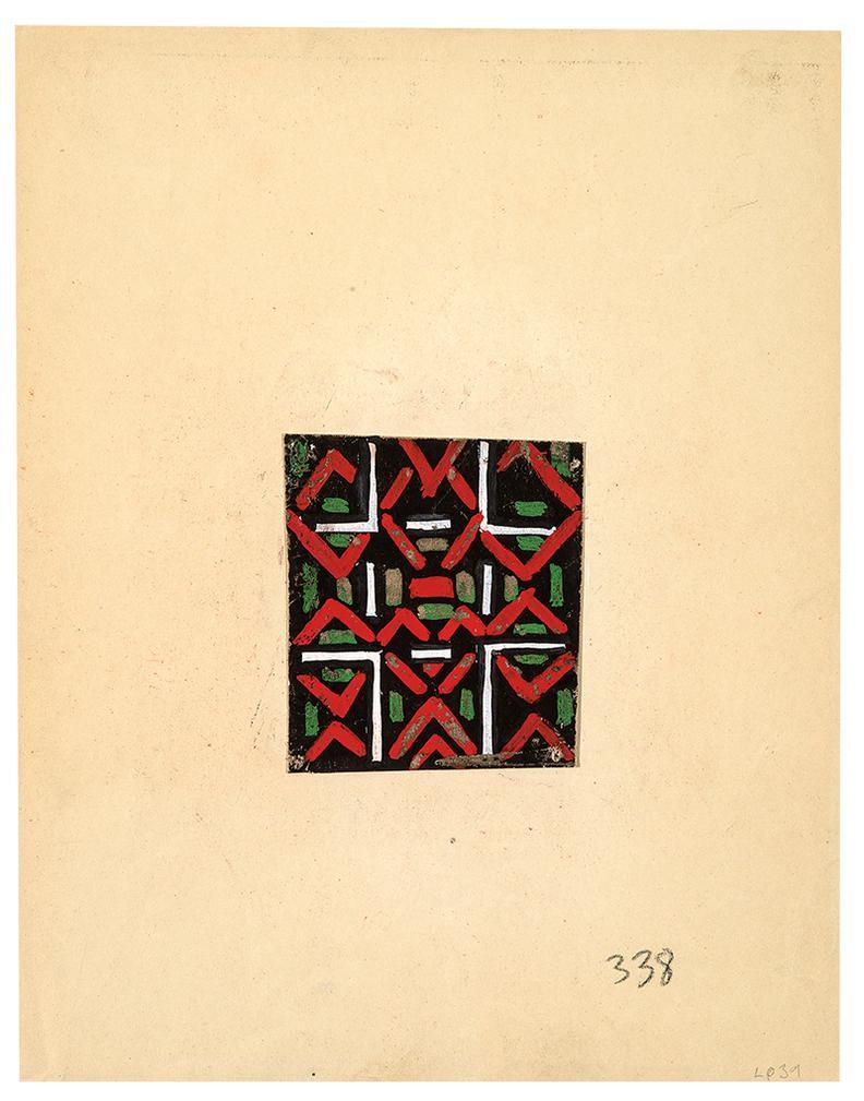 Sonia Delaunay-Untitled #52; Untitled #338 (2)-