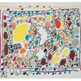 Pablo Picasso-Le Picador II (From A Los Toros Avec Picasso)-1961