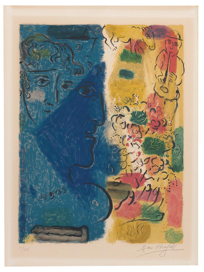 Marc Chagall-Affiche Dexposition-1967