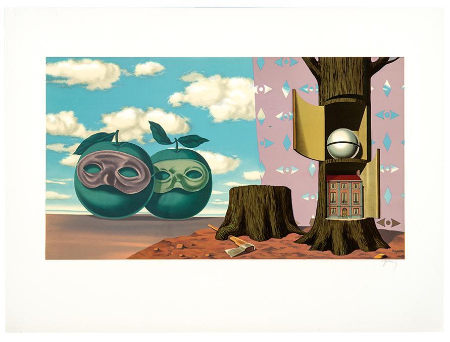 Rene Magritte-After Rene Magritte - Les Enfants Trouves De Magritte-1968