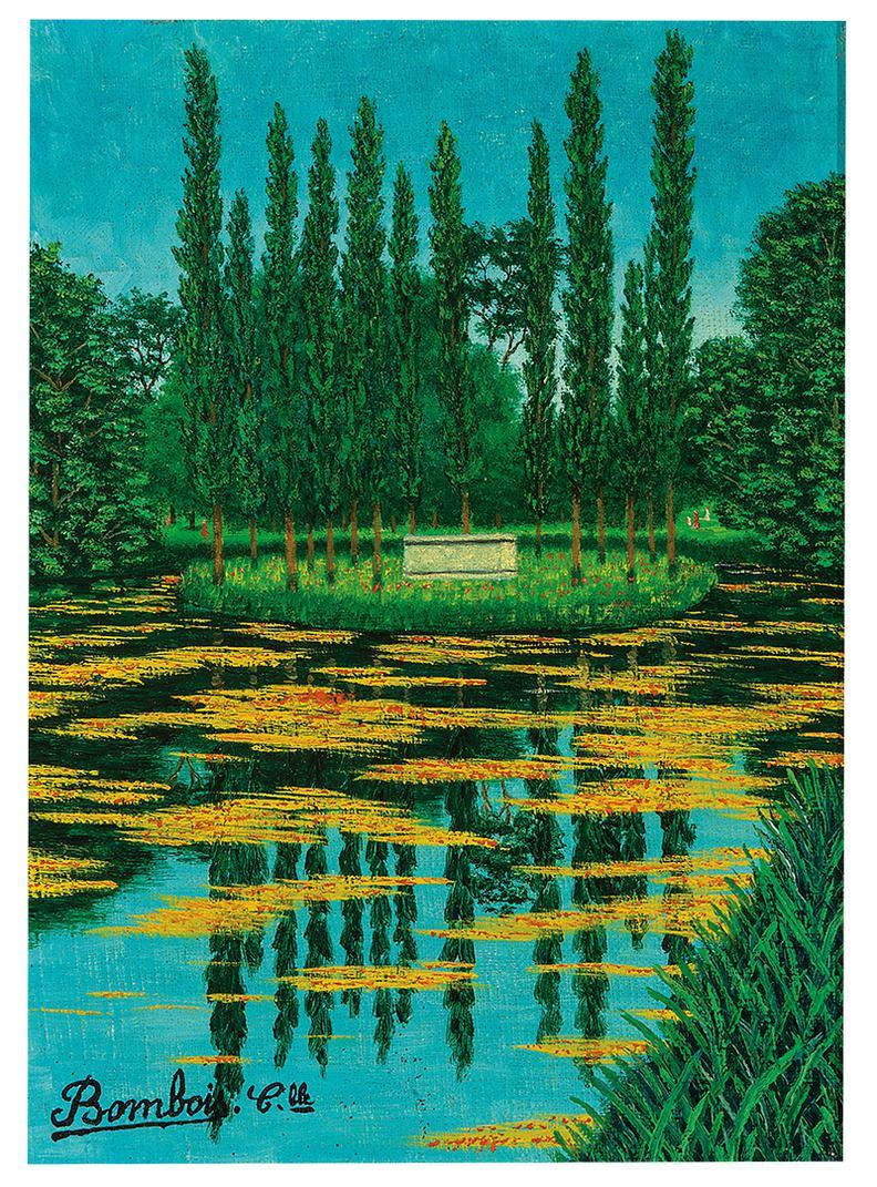 Camille Bombois-Park Dermenonville Et Le Tombeau De J.J. Rousseau-