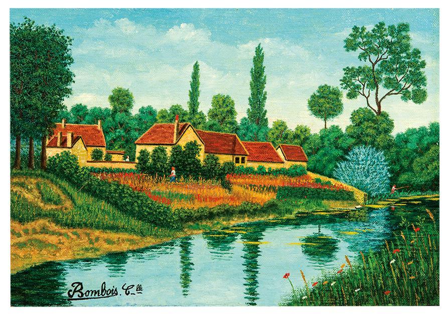 Camille Bombois-Maison Au Bord De La Riviere-