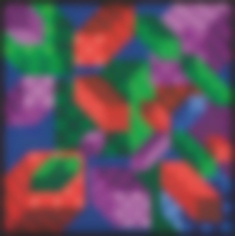 Victor Vasarely-Citineu-1988