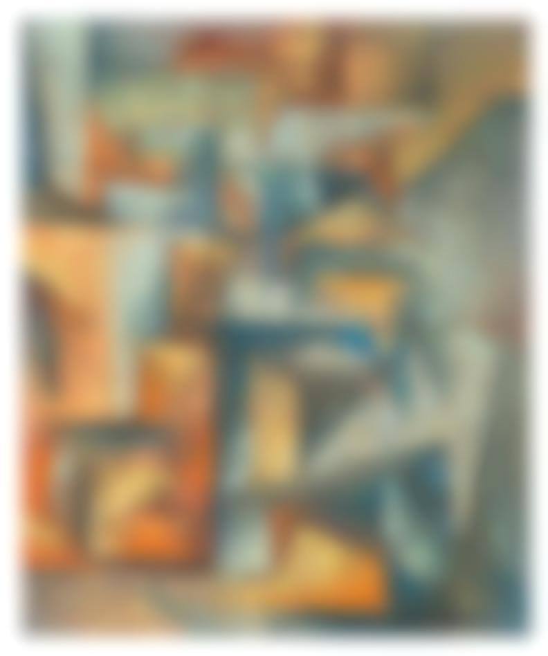 Karl Benjamin - Untitled-1953