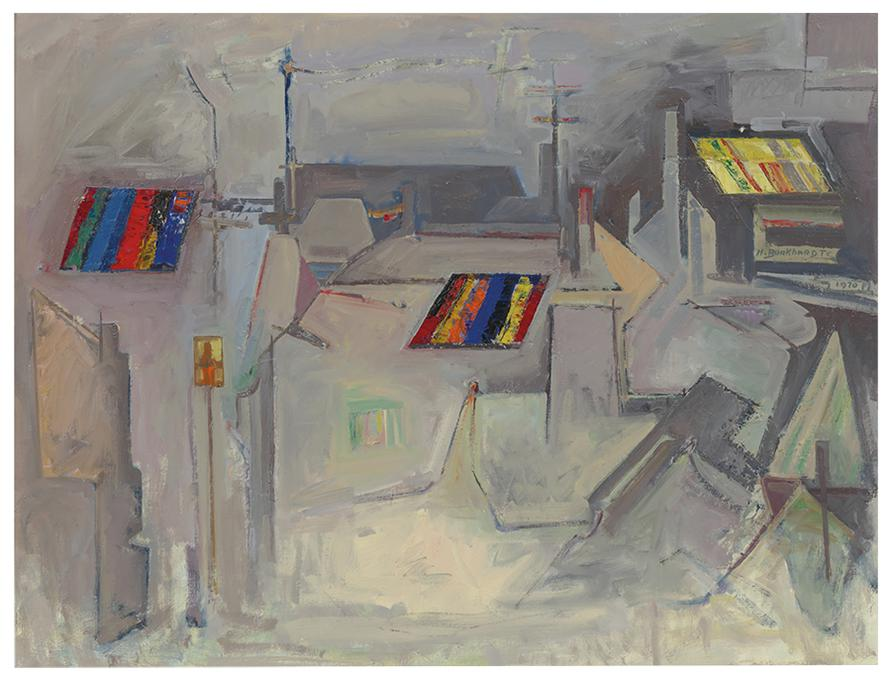 Hans Burkhardt-Artist Studios-1970