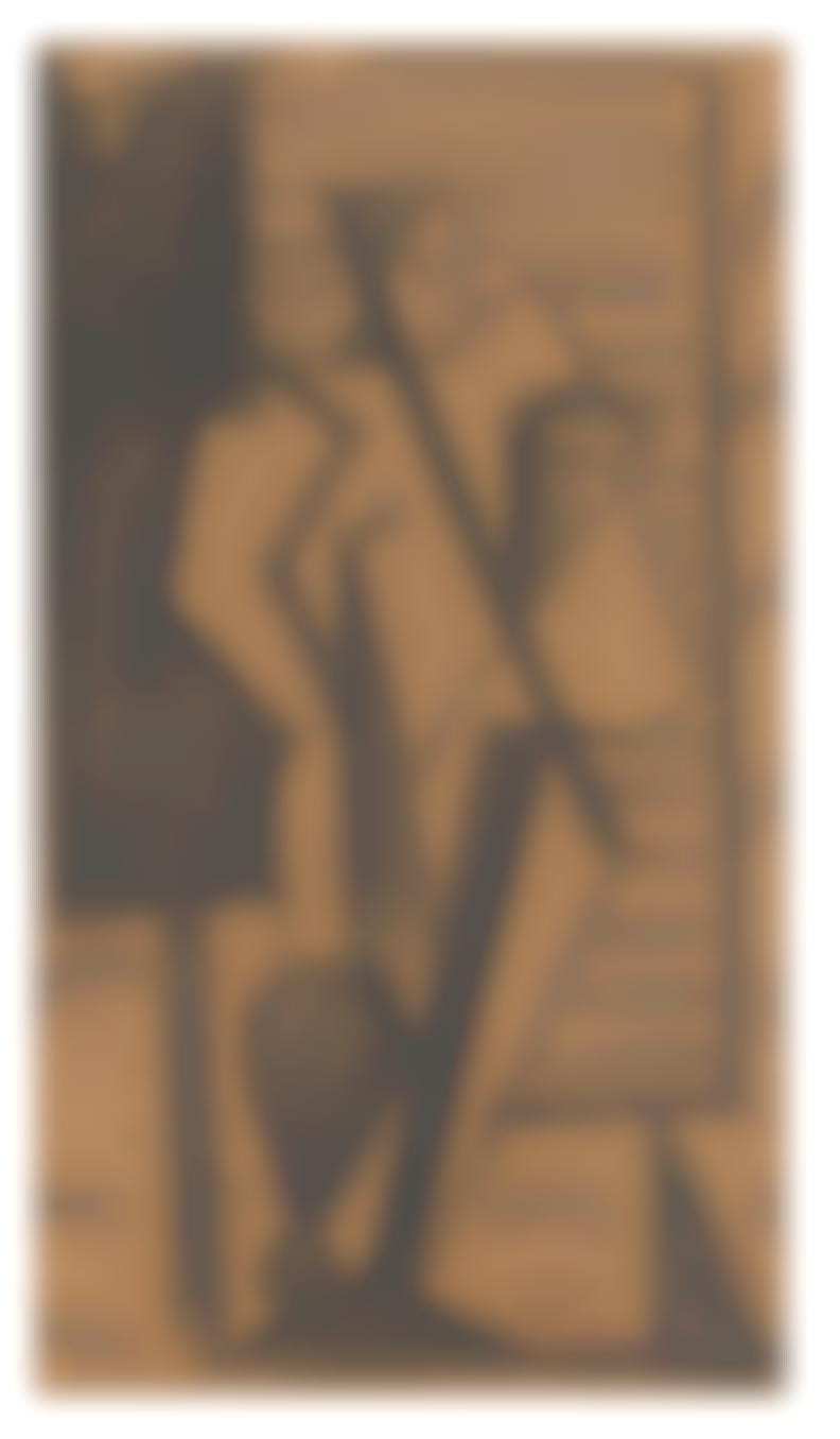 Hans Burkhardt-Untitled; Gladiator (2)-1938