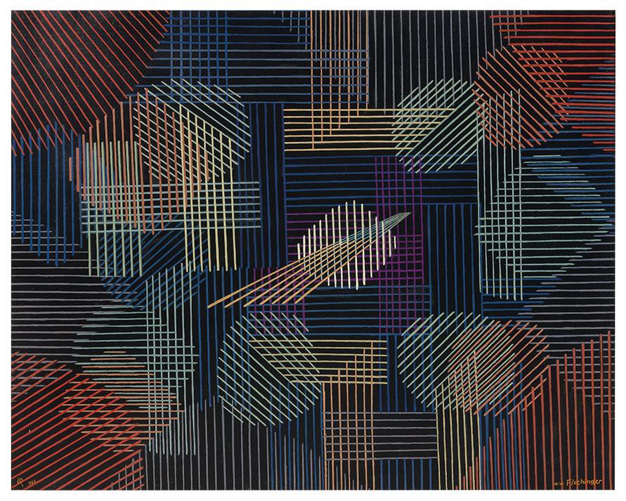 Oskar Fischinger-Abstraction No. 25-1962