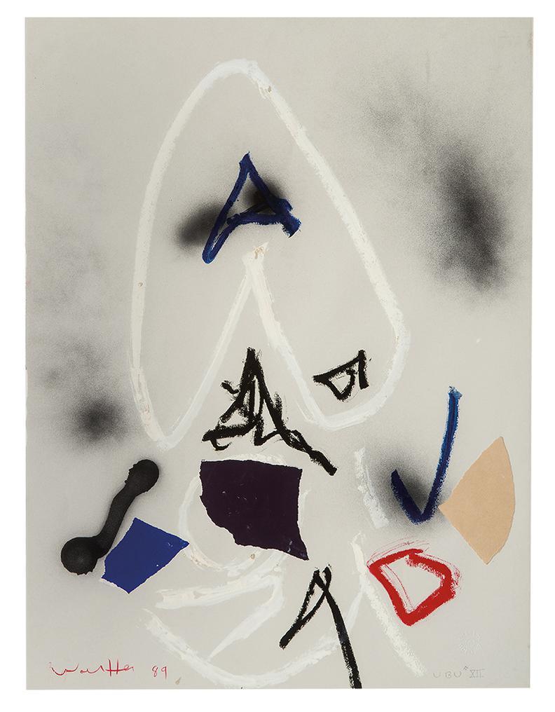 Emerson Woelffer-Ubu XII-1989
