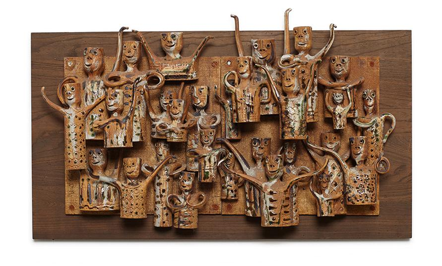 Hal Fromhold - Untitled (Wall Sculpture)-1975