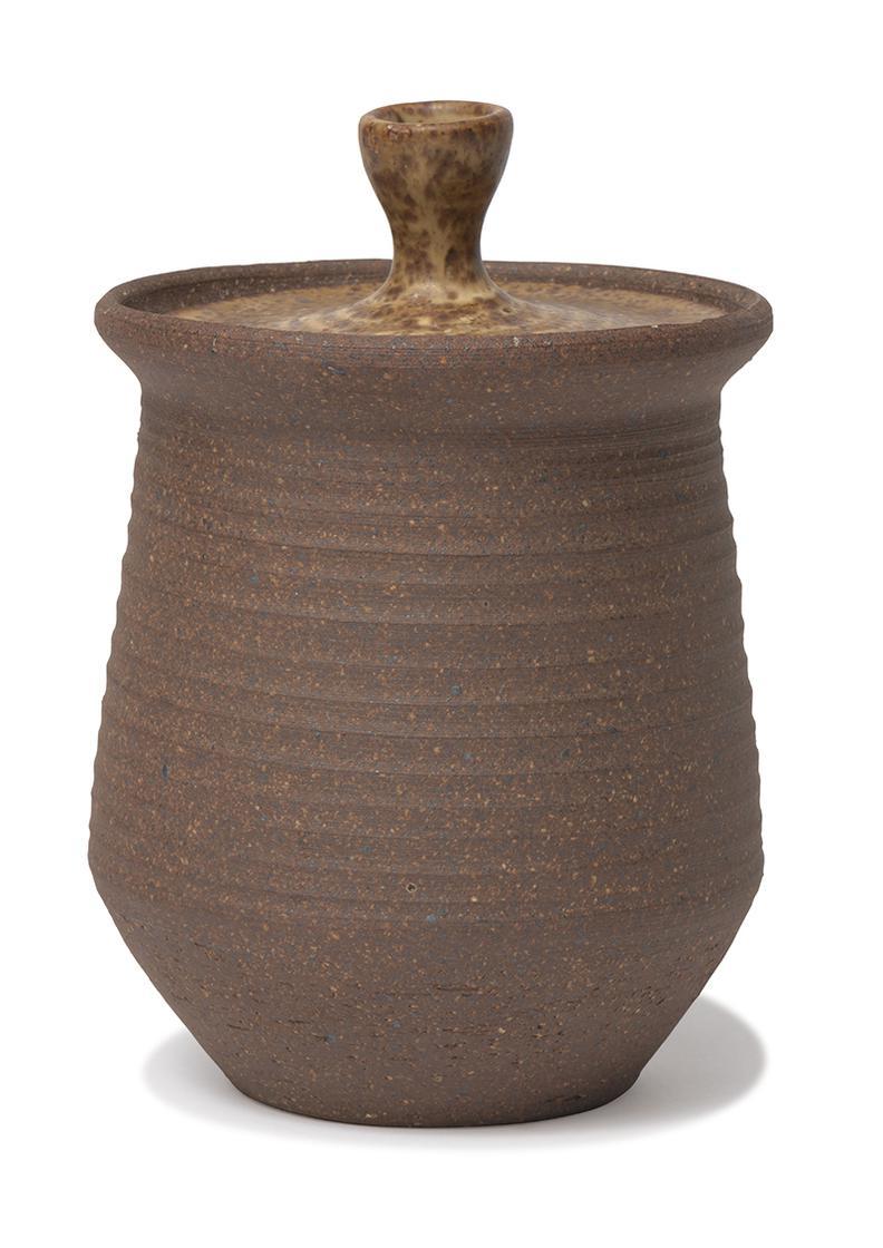 Karen Karnes - Lidded Pot-1975
