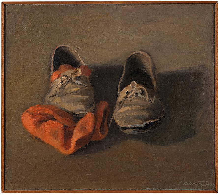 Vija Celmins-Untitled (Shoes)-1964