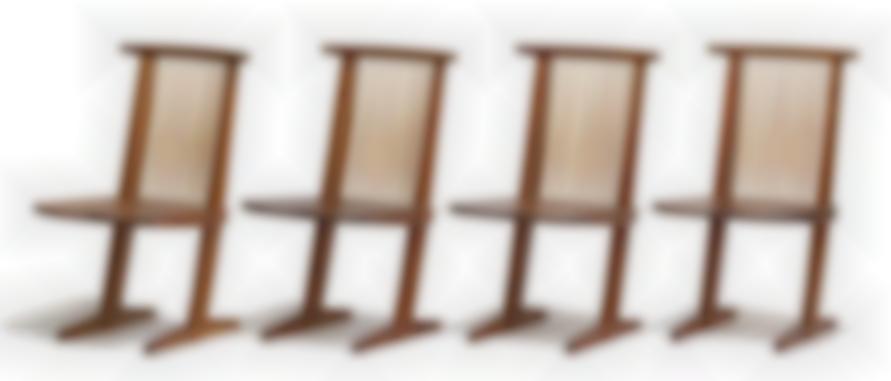 George Nakashima - Conoid Dining Chairs (8)-1965