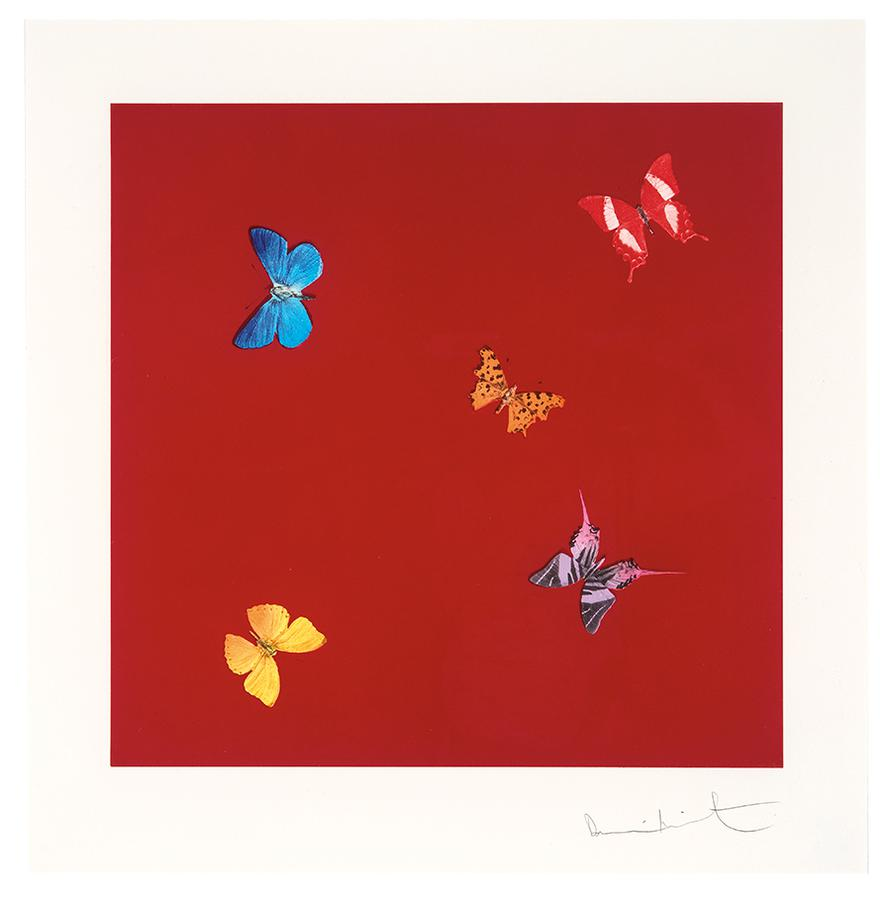 Damien Hirst-She Walks In Beauty (From Love Poems)-2014