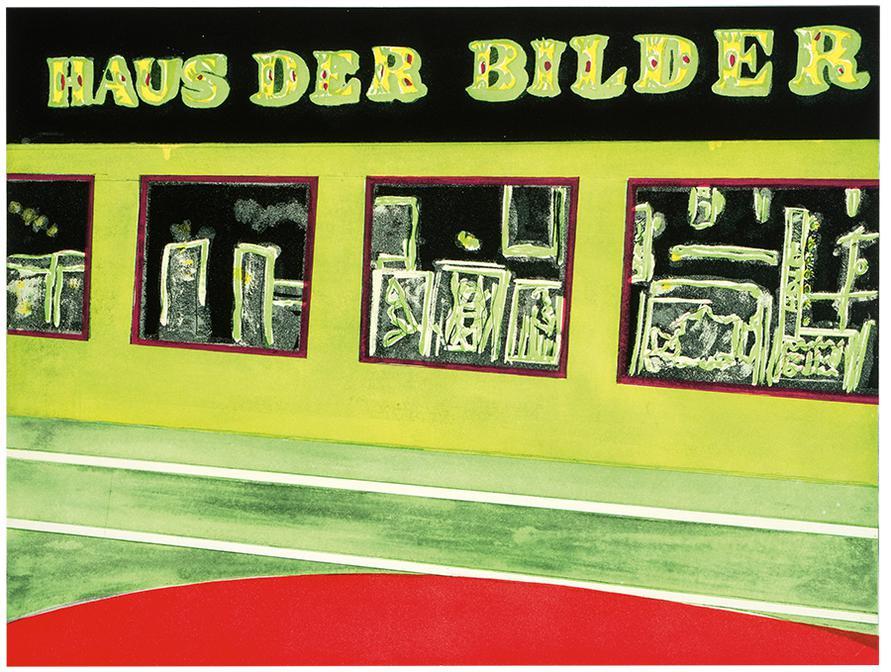 Peter Doig-Haus Der Bilder (From 100 Years Ago)-2001