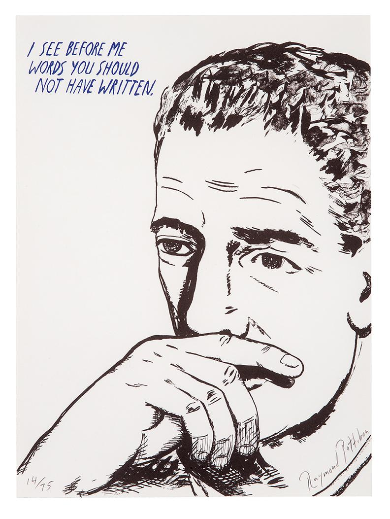 Raymond Pettibon-No Title (I See Before Me...)-2002