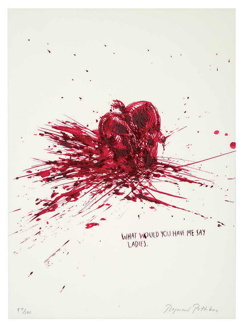 Raymond Pettibon-No Title (What Would You Have Me Say Ladies)-2002