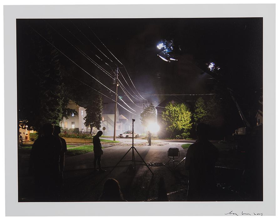 Gregory Crewdson-Production Still (Library St.)-2003