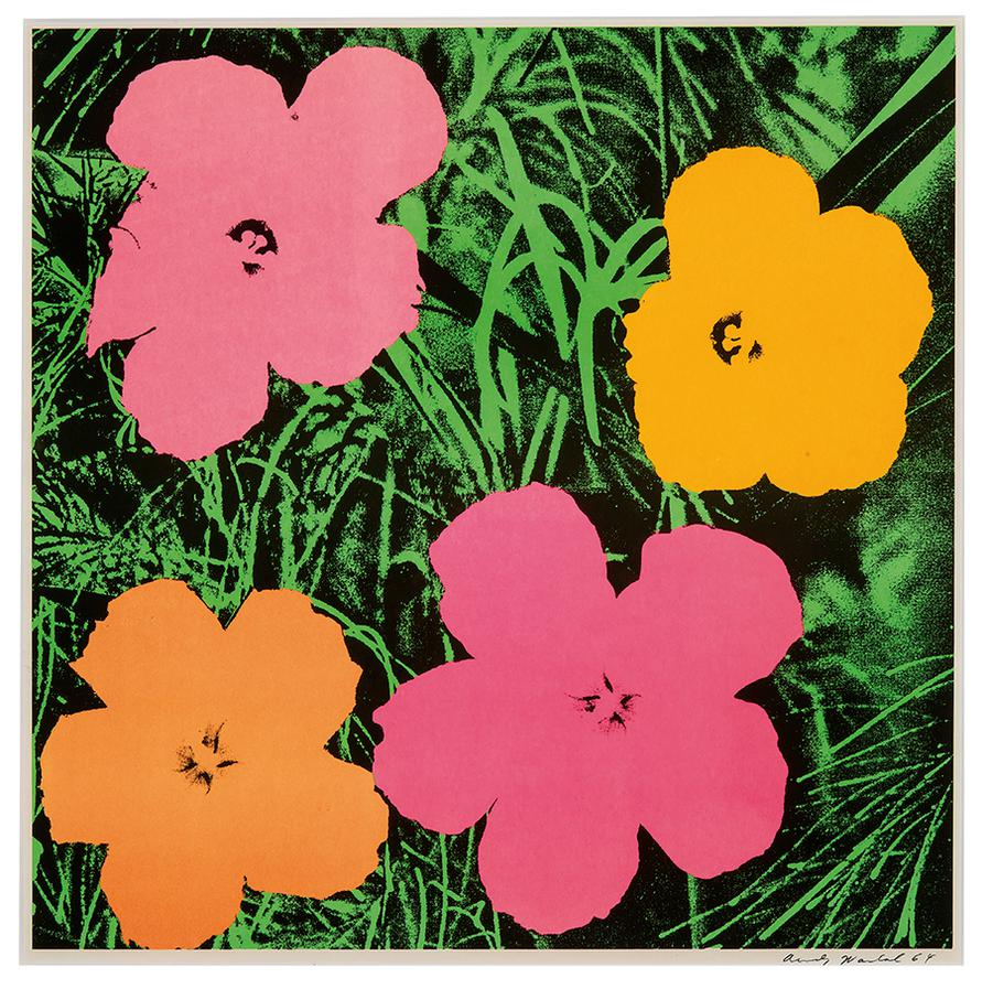 Andy Warhol-Flowers-1964