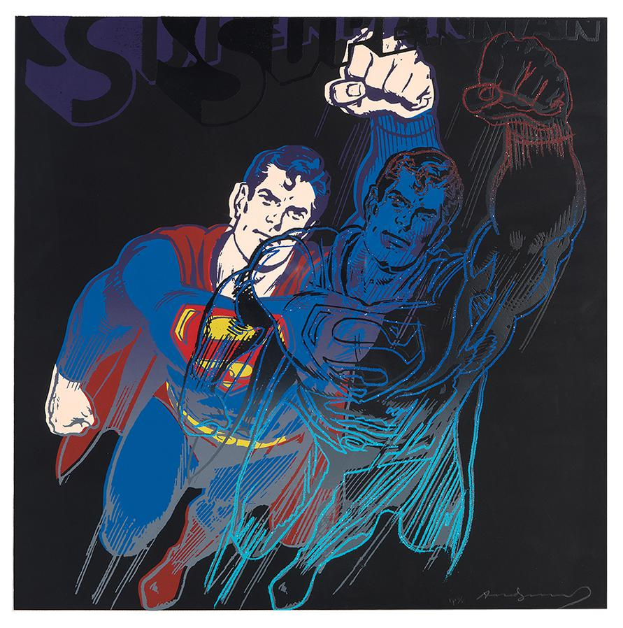 Andy Warhol-Superman (From Myths)-1981