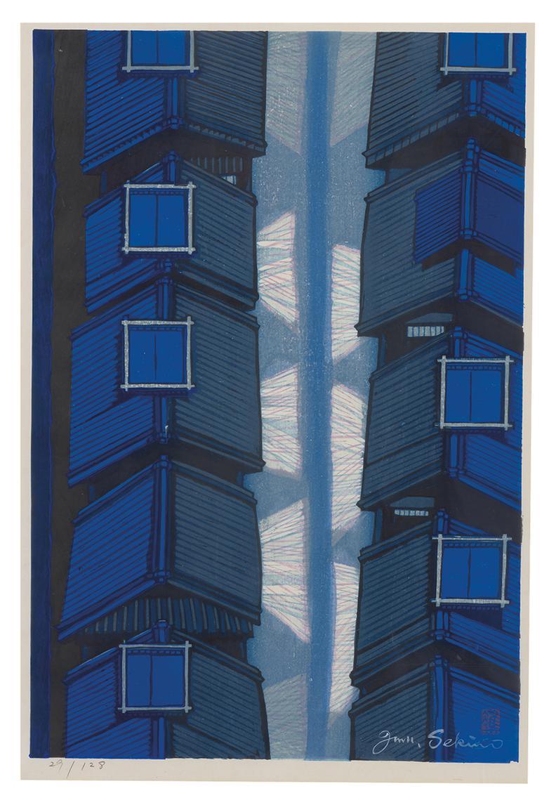 Jun'Ichiro Sekino - Blue Rooftops-1969