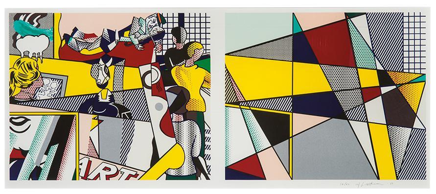 Roy Lichtenstein-Tel Aviv Museum Print-1989