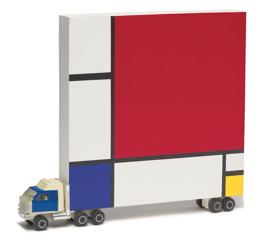 Bruce Houston-Untitled (Mondrian Truck)-1986