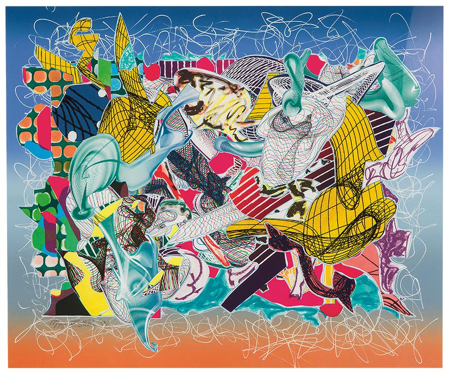 Frank Stella-Spectralia (From Imaginary Places)-1994
