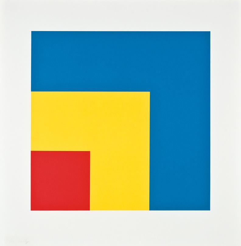 Ellsworth Kelly-Red Yellow Blue-2000