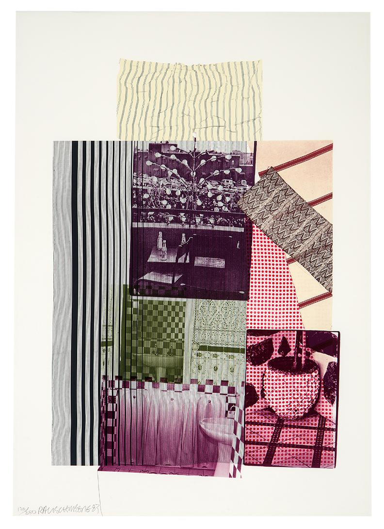 Robert Rauschenberg-Pre-Morocco (From Eight By Eight To Celebrate The Temporary Contemporary)-1983