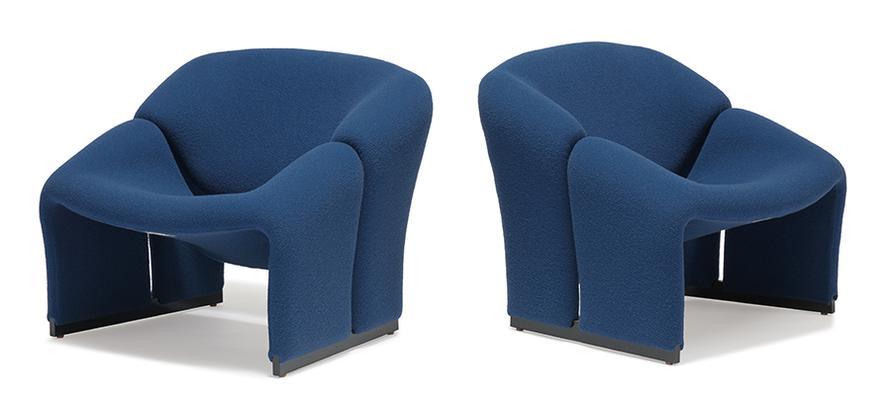 Pierre Paulin - Lounge Chairs (2)-1966