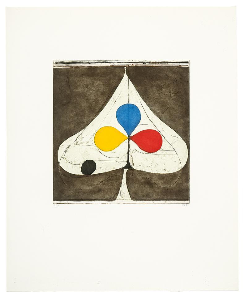 Richard Diebenkorn-Tri-Color Ii-1981