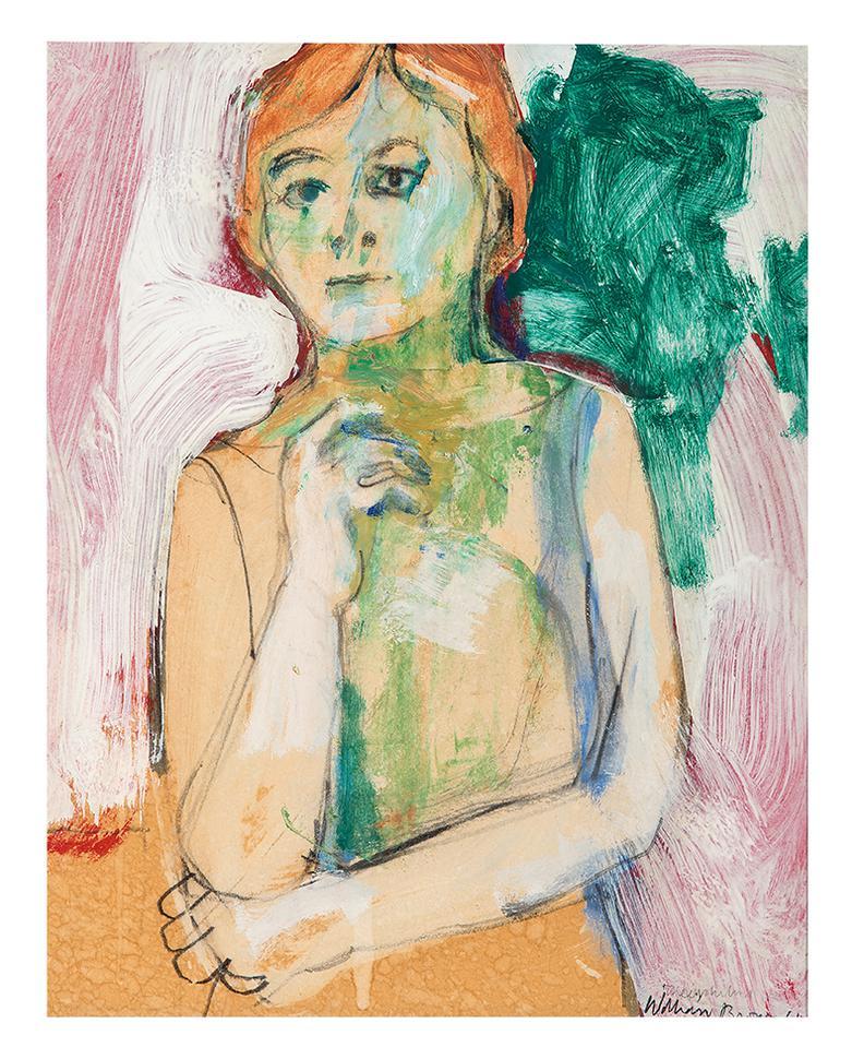 William Theophilus Brown-Untitled (Figure)-1961