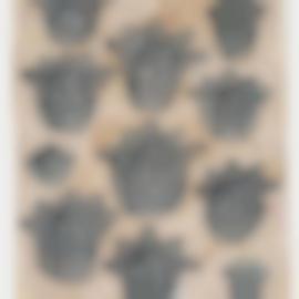 Donald Baechler-Flowers III (From Flowers)-1990