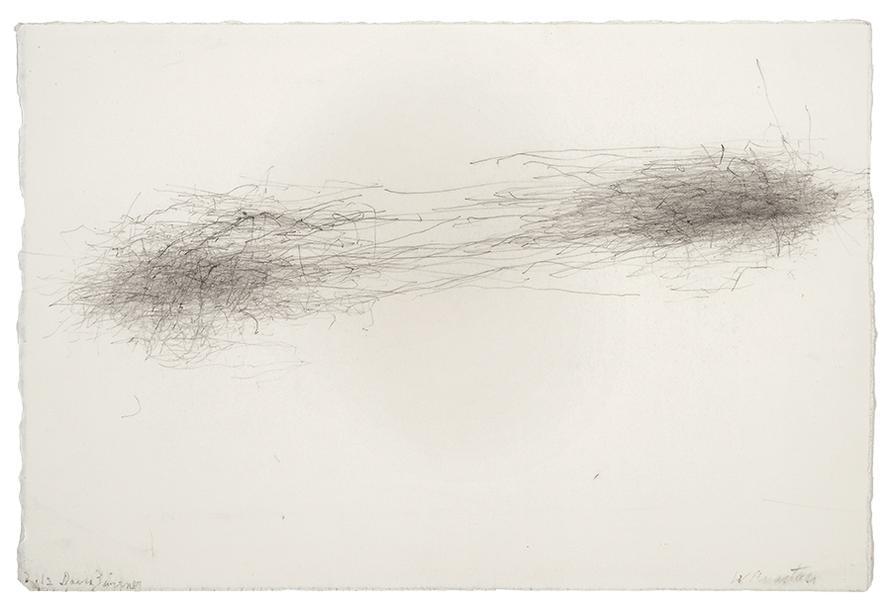 William Anastasi-Subway Drawing (Zwirner)-2012