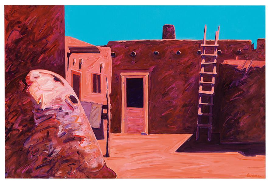 Constance Evans - Taos Pueblas-1993