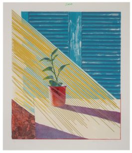 David Hockney-Sun (From Weather Series)-1973