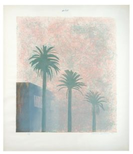 David Hockney-Mist (From Weather Series)-1973