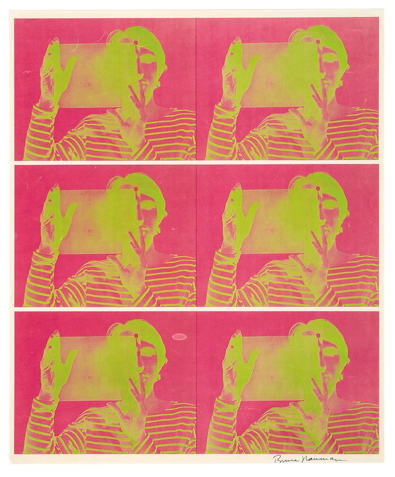Bruce Nauman-Untitled-1969