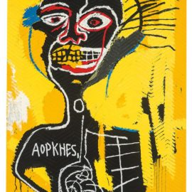 Jean-Michel Basquiat-After Jean-Michel Basquiat - Cabeza-2004