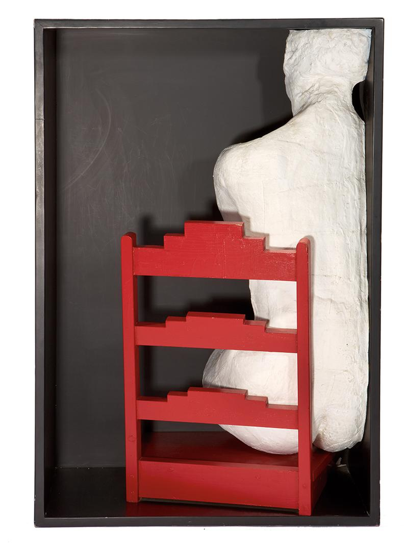 George Segal-Girl On A Chair-1970