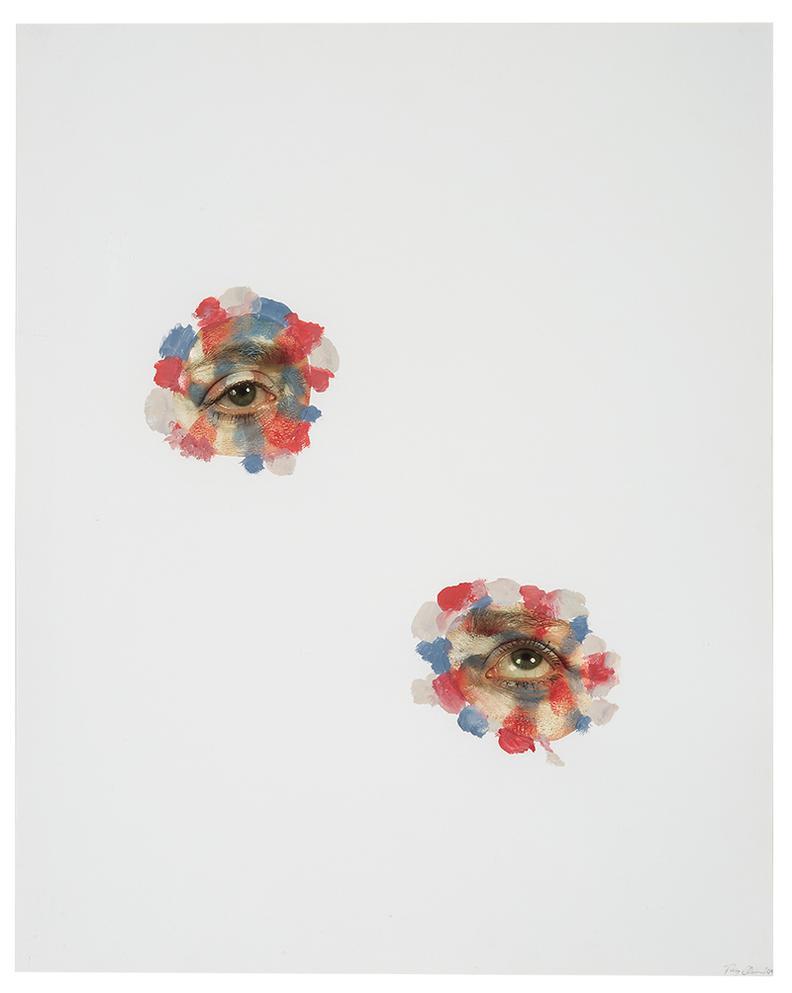Tony Oursler-Untitled (Eyes)-2004